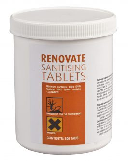 RENOVATE SANITISING TABLETS